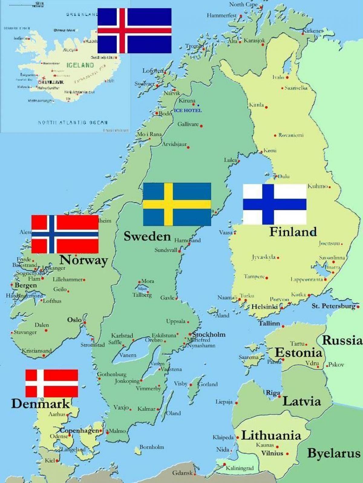 kart over finland Kart over Finland   Finland i kart av verden (Northern Europe  kart over finland
